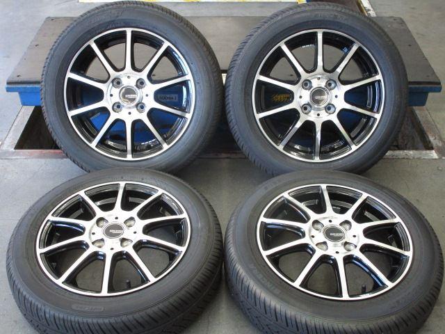 タイヤ 中古 キノスポーツ 14x4.5J+45 SD-7 トーヨー 4本セット 4H100 ホイールタイヤ 155/65R14社外 ラジアル 中古