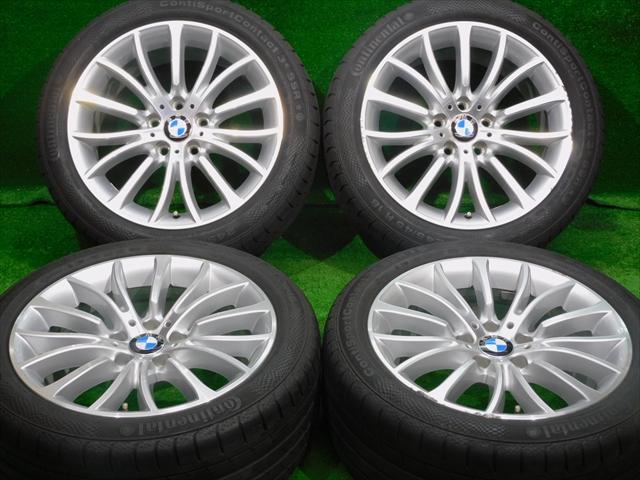 在庫商品 送料無料バランス調整済み 豊富な商品ラインナップ 全国18店舗の安心をお客様にお届けいたします 中古ホイールタイヤ 4本セット 245 45R18純正 BMW 5シリーズ 18x8J+30 ラジアル タイヤ 新色追加して再販 エクストリームコンタクト DWS06 中古 コンチネンタル 新色 純正 5H120 F10