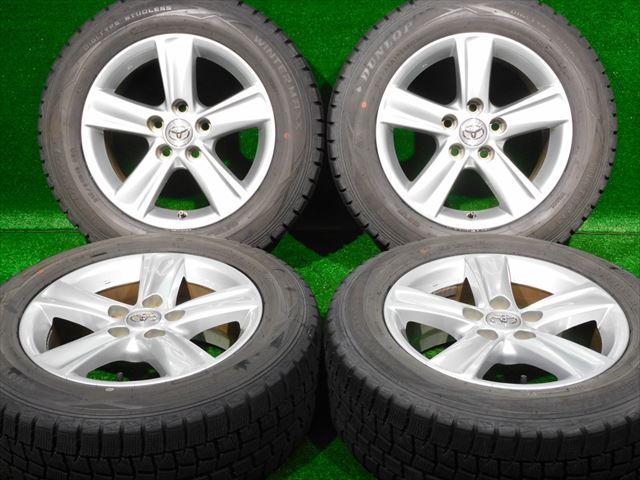 【爆買い!】 ホイールタイヤ 5H114.3 4本セット ブリザック 215/60R16純正 トヨタ純正 16x7J+40 5H114.3 スタッドレス タイヤ 16x7J+40 ブリヂストン ブリザック VRX2, サテンマーメイドshop:bc4fa39b --- yatenderrao.com