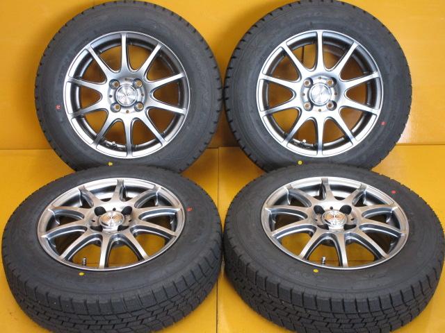 在庫商品 送料無料バランス調整済み 豊富な商品ラインナップ 全国18店舗の安心をお客様にお届けいたします セールSALE%OFF 中古 ホイールタイヤ 4本セット 165 14x5.5J+42 トーヨー 70R14社外 ロクサーニスポーツ SD-7 メーカー直売 タイヤ ラジアル 4H100