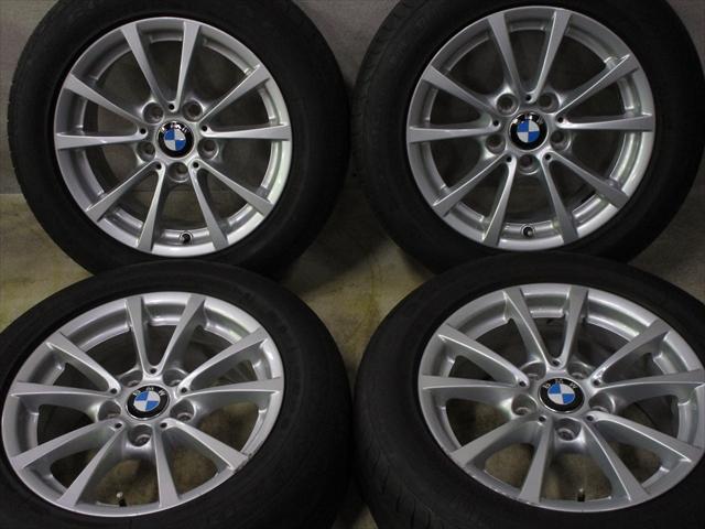 在庫商品 送料無料バランス調整済み 豊富な商品ラインナップ 全国18店舗の安心をお客様にお届けいたします 中古 ホイールタイヤ 4本セット 205 60R16純正 BMW タイヤ ついに再販開始 SD-7 3シリーズ F30純正 トーヨー 売れ筋ランキング 5H120 16x7J+31 ラジアル
