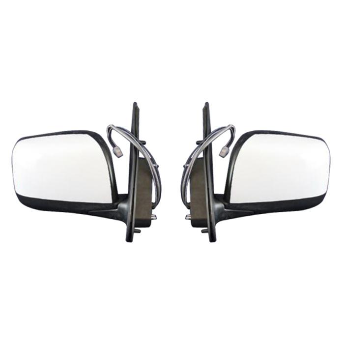 NV350 E26 キャラバン 純正タイプ 電動格納 ドアミラー 左右セット 塗装品 QM1ホワイト