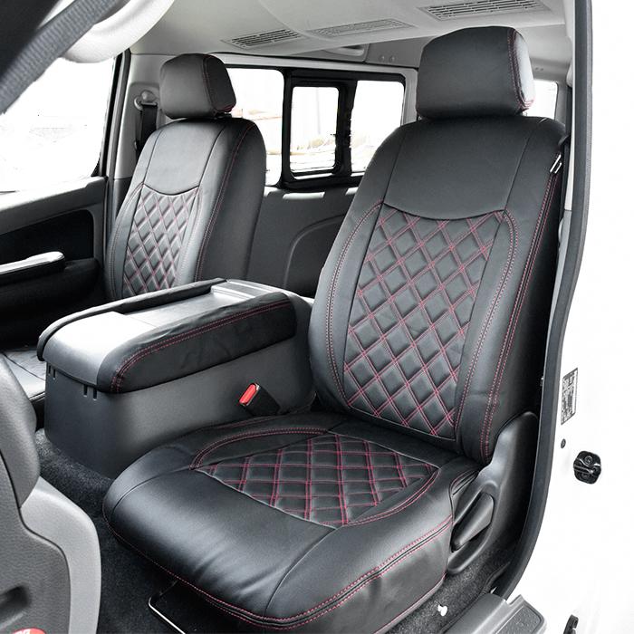 NV350 E26 キャラバン シートカバー プレミアムGX / ライダー プレミアムGX ダイヤカット PVC レザー 1台分