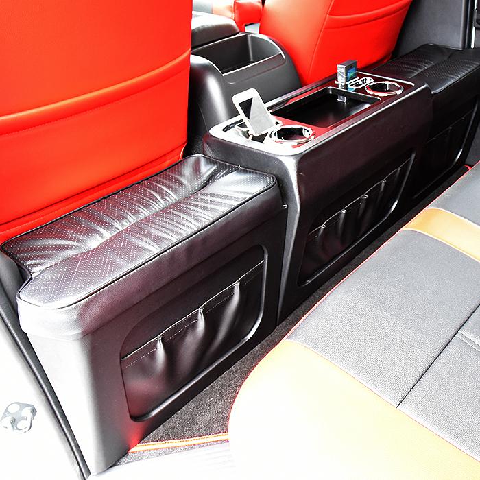 ハイエース 200系 標準 セカンドシート テーブル フットレスト