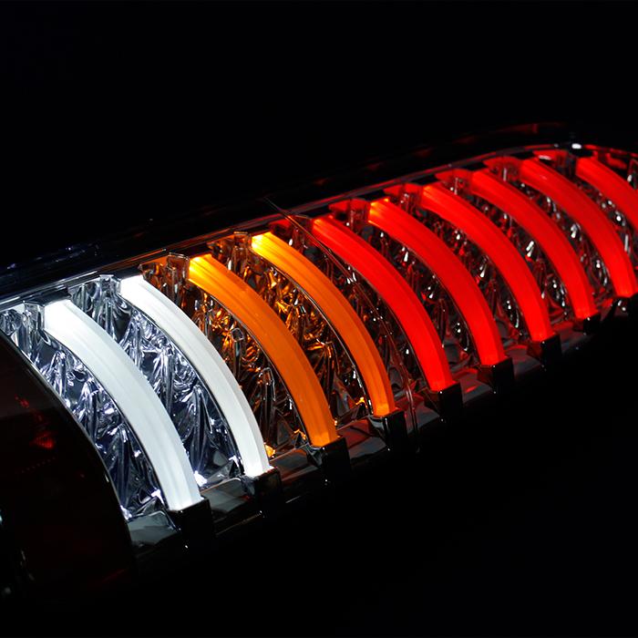 ハイエース テールランプ 春の新作シューズ満載 在庫一掃売り切りセール ブレーキ 200系 フルファイバー フルLED 全6色