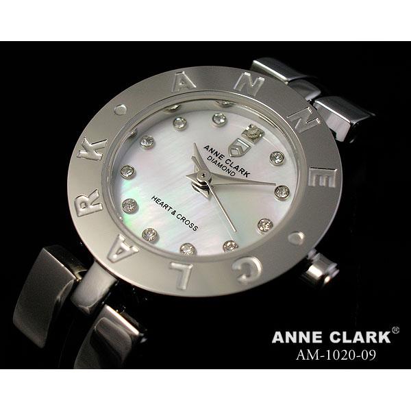 ANNE CLARK(アンクラーク)ハート&クロス スイングチャームブレスレット腕時計 AM1020-09