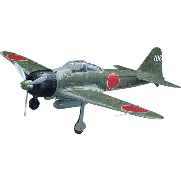 Painting model special in 0 sets of 1/48 die-casting model warships a  fighter (Zero fighter) 22 type 251st Navy flying corps Nishizawa airplane