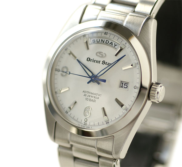 Orient watch Orient star classic automatic winding wide calendar off-white WZ0011EV