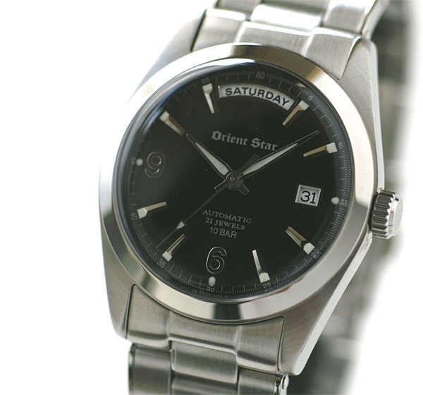 Orient watch classic Orient star automatic volume wide calendar black WZ0021EV