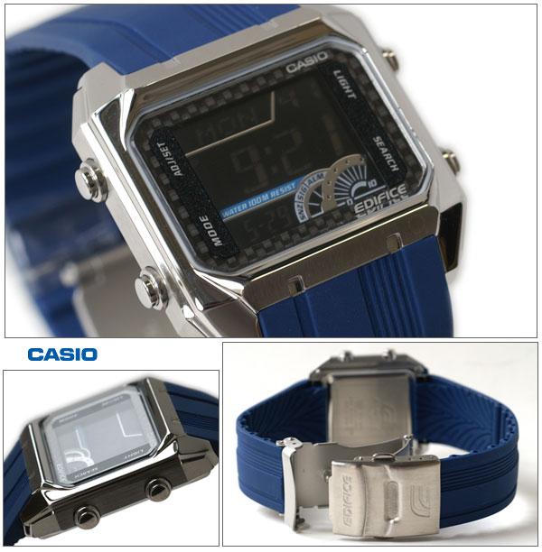 CASIO海外型號EDIFICE世界時間EFD1000-2AV