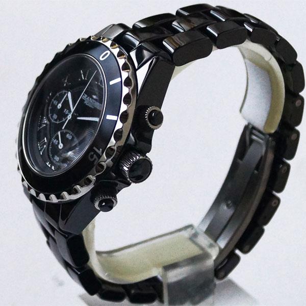 [宏偉加] 鴻威加 + fluceramickcrono 圖男裝看 GRP008B1 黑色