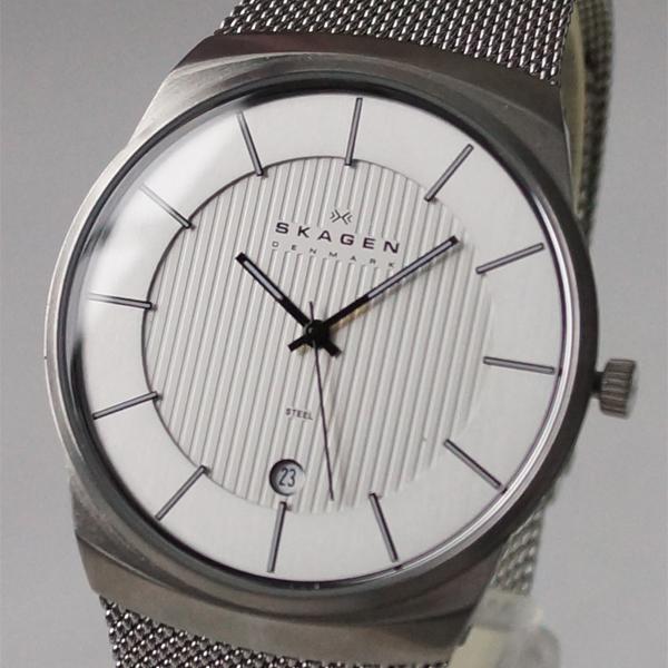 sukagen SKAGEN 780XLSS手表Men's钟表人纤细表
