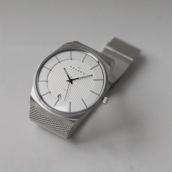 sukagen SKAGEN 780XLSS手錶Men's鐘表人纖細表