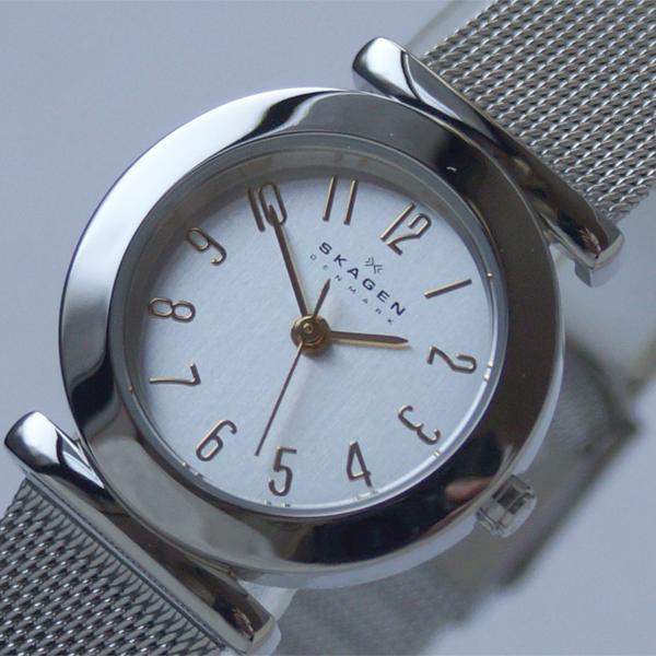 斯盖恩 107SGSC 斯卡恩网格带手表妇女女士超薄手表