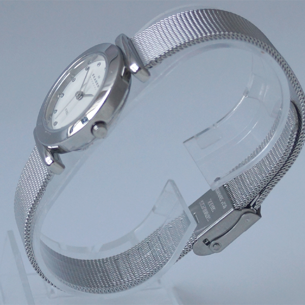 Skagen SKAGEN 107SSSD mesh band Watch Women's ladies slim watch