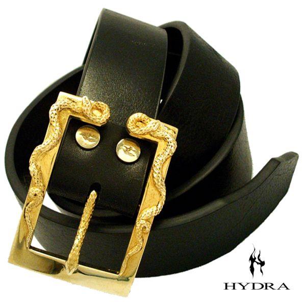 HYDRA/ヒドラ 「受注生産品」 HBK005B ヒドラデザイン バックル(ブラス) ベルト付き【ギフトOK】【smtb-k】