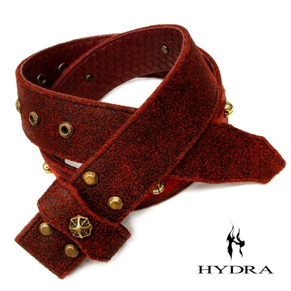 HYDRA/ヒドラ 「受注生産品」 HBT004B 牛革&ダイヤモンドパイソン ベルト(ブラス)【ギフトOK】【smtb-k】
