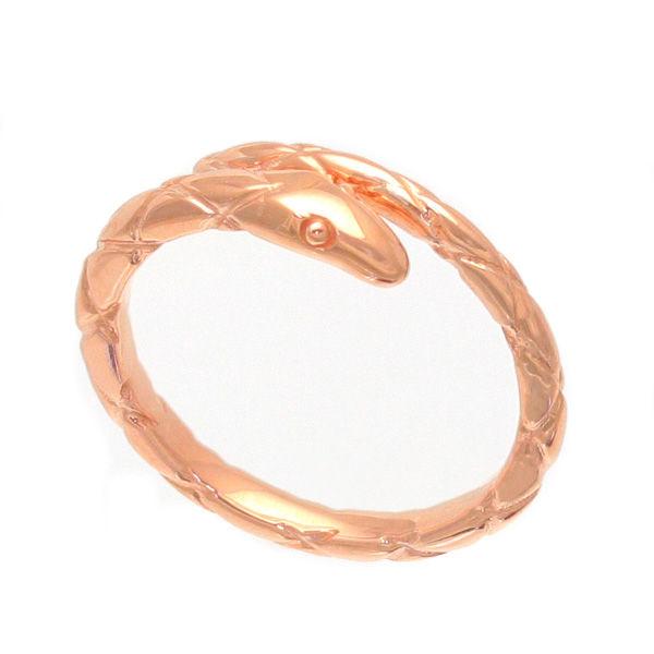 KENBLOOD ケンブラッド ヘビ スネーク フリー リング 指輪 ピンクゴールド KR-257PK【ギフトOK】【smtb-k】