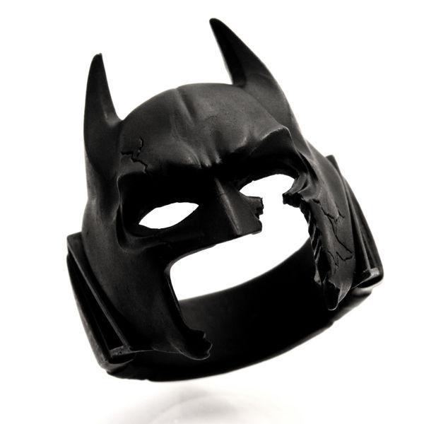 【あす楽対応】SAINTS/セインツ BATMAN バットマン コラボ リング 指輪 シルバー ブラック 燻し メンズ BM-R-01【送料無料】【ギフトOK】【smtb-k】