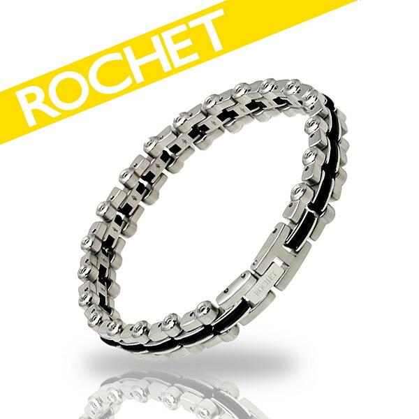 ROCHET/ロシェ サージカルステンレス×シリコン ブレスレット B091180 【ギフトOK】【smtb-k】