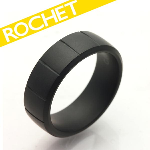 ROCHET/ロシェ Ceramic HAN マットセラミックリング/A4396【ギフトOK】【smtb-k】