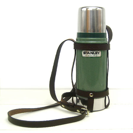 Private thread line レザーポット holder Stanley classic bottle 470 ml