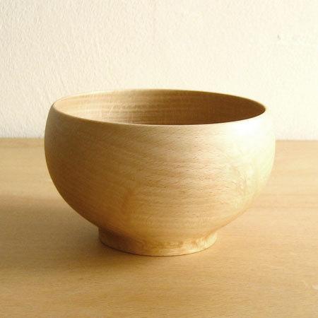 Sonobe SONOBE 高贵碗 (碗 meiboku) 在 (山毛榉)。