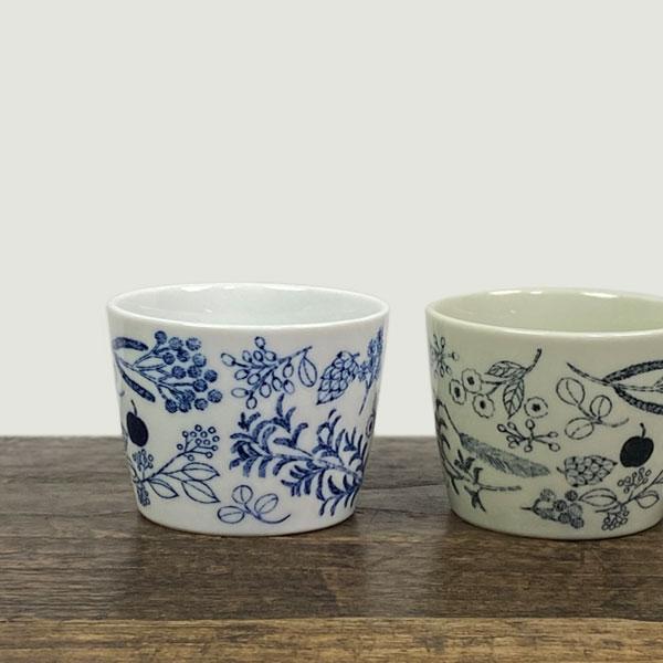 松尾ミユキ フリーカップ デザートカップ 陶器 気質アップ 鳥 器 おしゃれ 食器 ついに再販開始