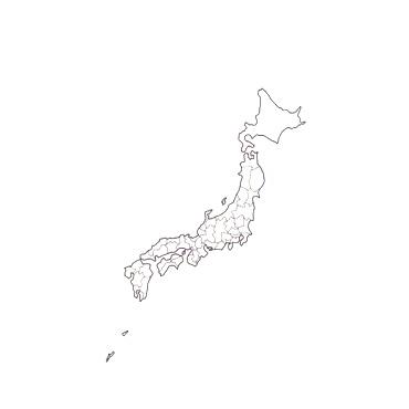 nombre ノンブル 水縞 ハンコ 日本白地図 日本地図 判子 国際ブランド 都道府県 スタンプ 商品 はんこ