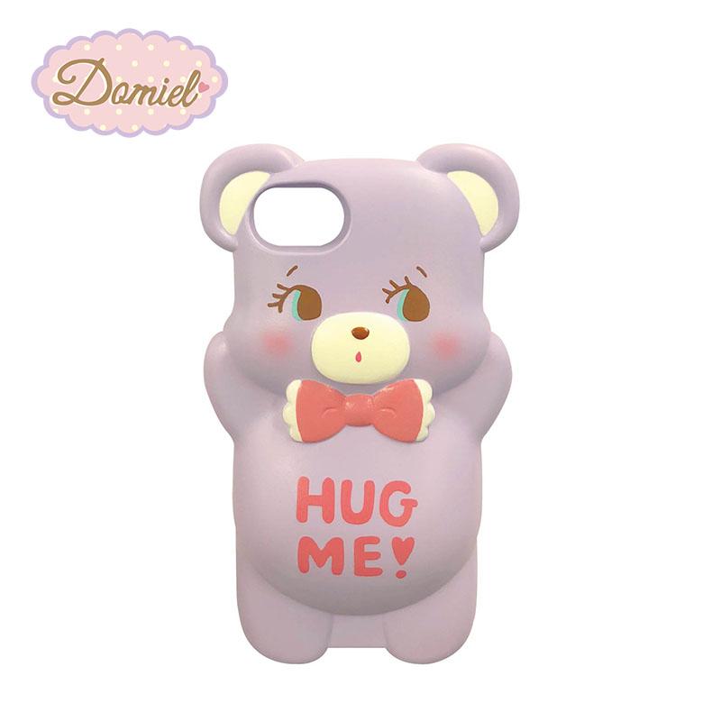 Domiel HUG ME スクイッシー パープル iPhoneケース i-MOU 6対応 7 iPhone8 絶品 中古 6s