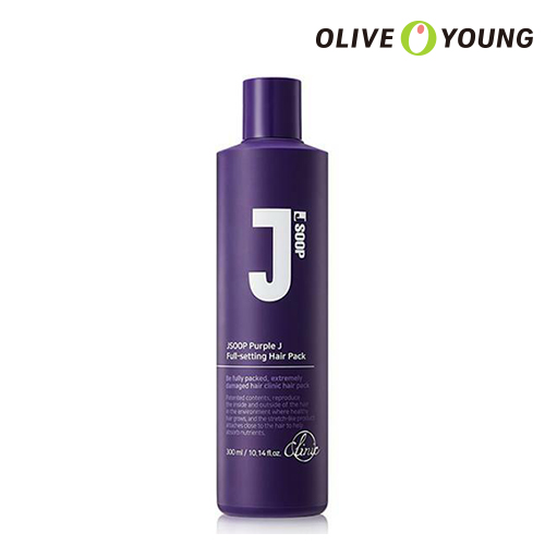 OLIVEYOUNG公式 JSOOP パープルジェイフルセッティングヘアパック 300ml Purple J Full Setting 海外直送 ヘアスタイリング 百貨店 Hairpack タンパク質 オリーブヤング公式 韓国コスメ ジェイ森 送料無料限定セール中