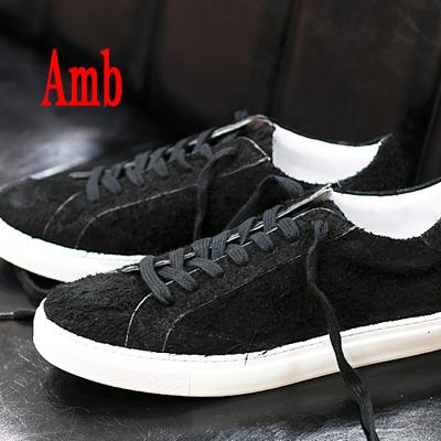 【 正規取扱店 】Amb ( Ambassadors ) スニーカー 9838 FENRIS BLACK エーエムビー ( アンバサダーズ ) sneaker メンズ ブラック 靴