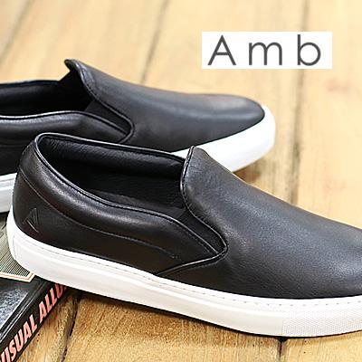 2/14新作 【あす楽】【 正規取扱店 】 Amb ( Ambassadors ) スニーカー スリッポン 2000 ARCHY BLACK エーエムビー (アンバサダーズ)sneaker メンズ mens
