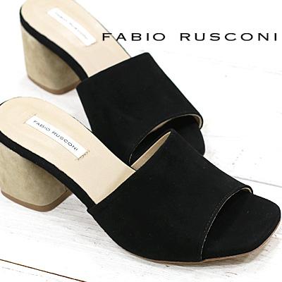 FABIO RUSCONI サンダル MARTA353 ブラック ファビオルスコーニ 靴 【 ファビオ ルスコーニ 】