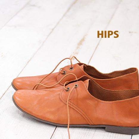 4/18再入荷 HIPS 231255 レディース シューズ ヒップス 靴 ペタンコ レザー