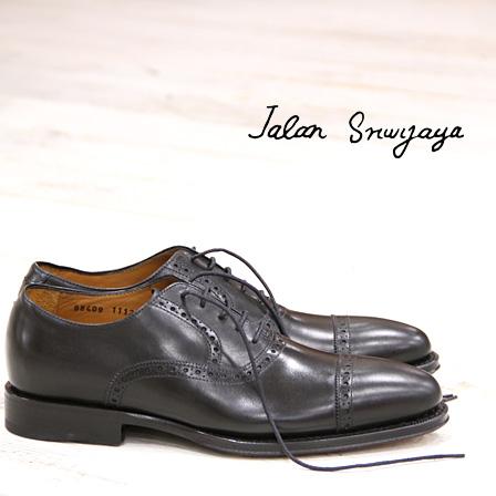 【今ならポイント10倍】 【あす楽】【 日本正規取扱店 】 JALAN SRIWIJAYA 98409 BLACK CALF ジャラン スリウァヤ ドレスシューズ ブラック カーフ 靴 ダイナイトソール