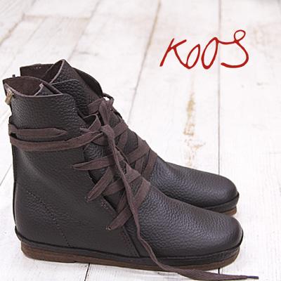 【 セール sale 】国内正規品 KOOS WAK S FG MOCHA boots コース ブーツ レディース ショートブーツ