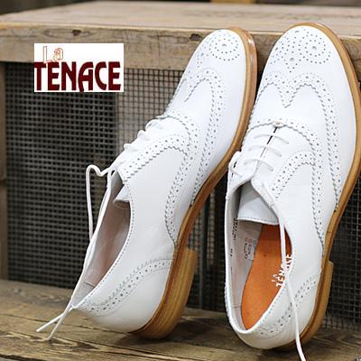 【ラスト1点!39インチのみ】 【セール sale】 【あす楽】【国内正規品】 La TENACE 靴 ラ・テナーチェ 385 VITELLO GALAXY BIANCO レディース ladies shoes