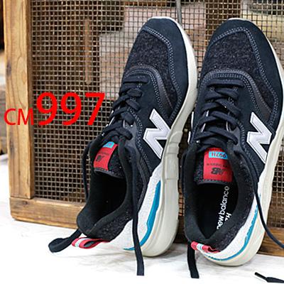 【あす楽】 【日本正規取扱店】 new balance CM997H XS BLACK ニューバランス メンズ 【 m1400 好きにもおすすめ 】