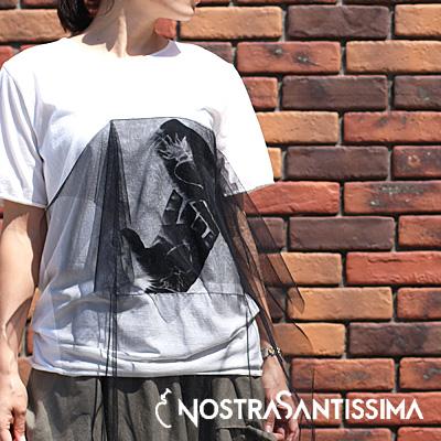 【期間限定特別価格】NostraSantissima 99 PPD TS28 BLACK ノストラサンティッシマ カットソー レディース ladies