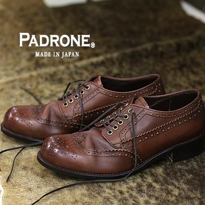 【 ポイント10倍 】 【 正規取扱店 】 PADRONE 靴 メンズ PU8054-2020-17A D.BROWN パドローネ shoes ダークブラウン