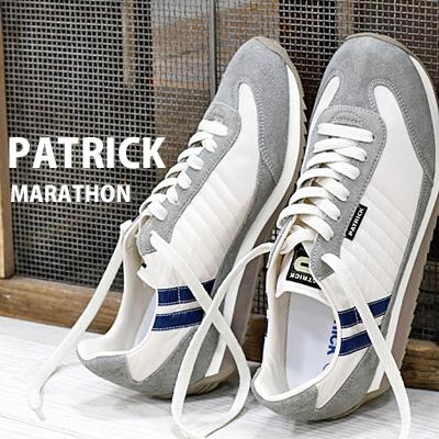 2/28新作 【 spot カラー 】【 正規取扱店 】 PATRICK sneaker MARATHON マラソン ESCRG 94193 パトリック スニーカー 【 スタジアム STADIUM に並ぶ人気】 メンズ レディース