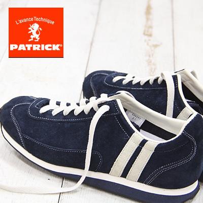 【あす楽】 【 spot カラー 】【 正規取扱店 】 PATRICK sneaker BOSTON2 スニーカー NVY 526562 パトリック ボストン 【 スタジアム 、マラソン に並ぶ人気】 メンズ レディース