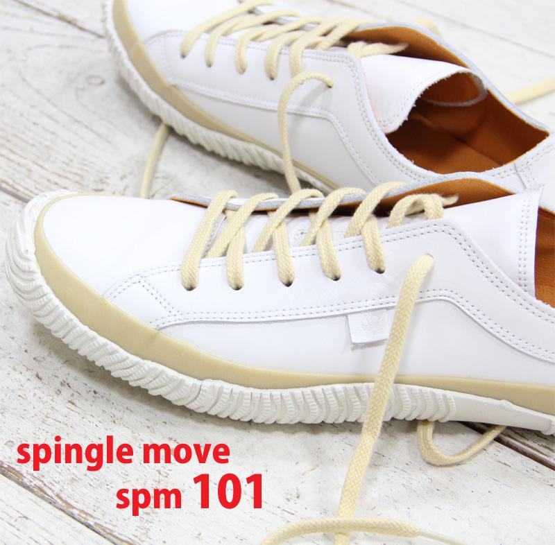 【交換送料片道無料】 【あす楽】 SPINGLE MOVE 101 スピングルムーブ SPM-101 WHITE ホワイト メンズ レディース