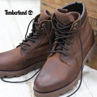 【あす楽】【 日本正規取扱店 】 ティンバーランド メンズ ロー トライブ ブーツ   TB 0A2849 203 MD BROWN FULL GRAIN Timberland RAW TRIBE 6 IN BOOT 靴