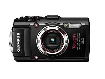 中古 OLYMPUS デジタルカメラ STYLUS TG-3 Tough 大人気 海外並行輸入正規品 ブラック 100kgf耐荷重 BLK 1600万画素CMOS F2.0 GPS+電子コンパス内蔵Wi-Fi 15m防水