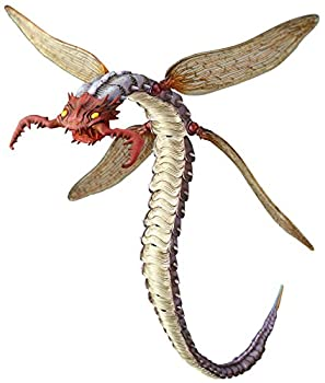 中古 タケヤ式自在置物 蛇螻蛄 お得なキャンペーンを実施中 着彩 KT-012 塗装済み可動フィギュア PVCABS製 約405mm 買収