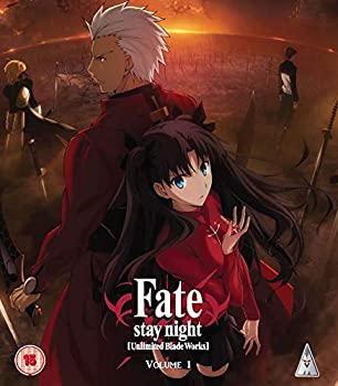 中古 Fate Stay Night 美品 Unlimited Blade 開店記念セール Works リージョンB 輸入版 2 1 第0-12話 Blu-ray BOX