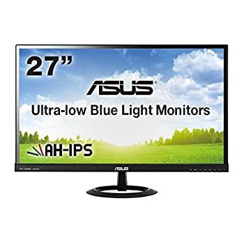 <title>中古 大放出セール ASUS 27型フルHDディスプレイ AH-IPS 広視野角178° ブルーライト低減 HDMI×2D-sub×1 スピーカー内蔵 ブラック 3年保証 VX279</title>