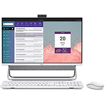 日本に 【】Dell Inspiron オールインワン 5490 23.8インチ FHD タッチスクリーン AIO PC、第10世代Core i5 最大4.20 GHz、12GB RAM、256GB SSD+1TB HDD、We, 布地のお店 ソールパーノ e86f5fb2